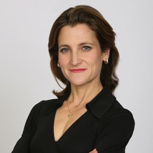 The Honourable Chrystia Freeland (Minister of International Trade at The Government of Canada)