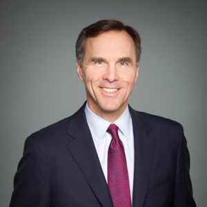The Honourable Bill Morneau (Minister of Finance at Government of Canada)
